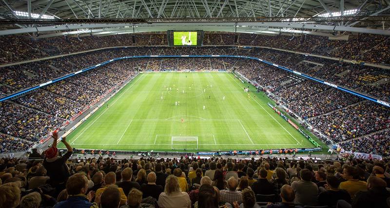 best football stadiums europe