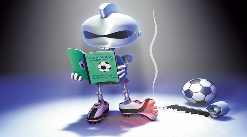 robot-book-soccer-football-ball