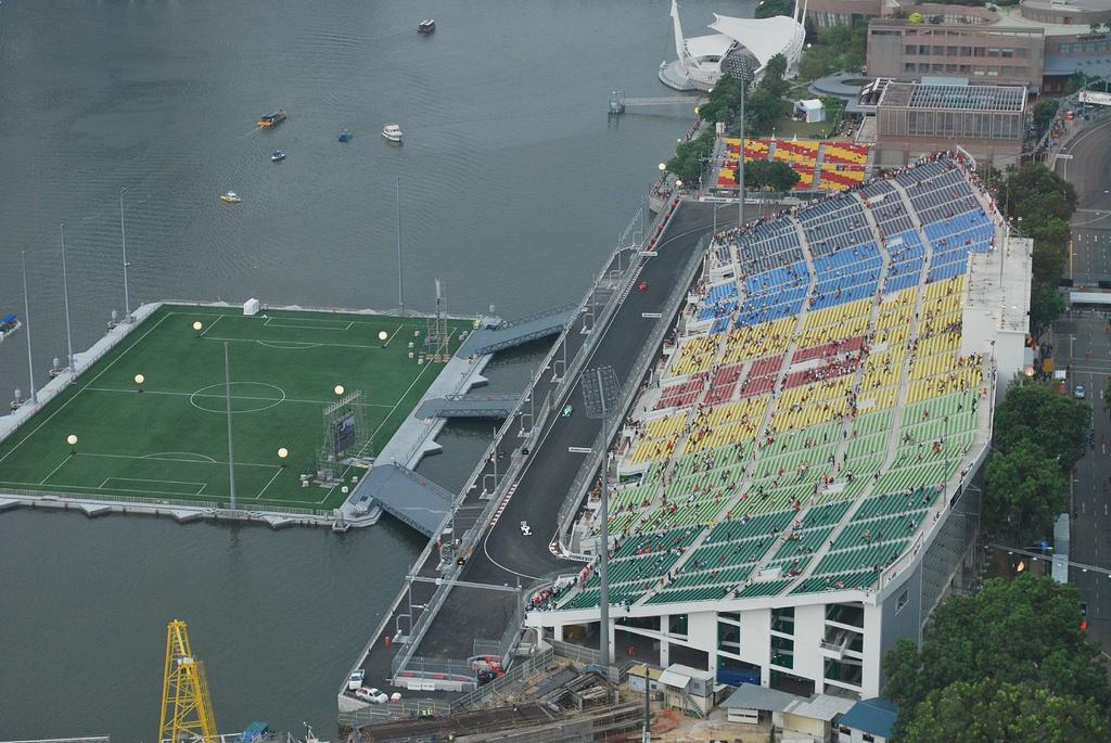 This is the world's largest floating stadium – see how it looks!